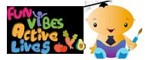 Fun vibes active lives logo